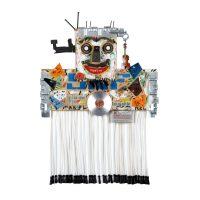 """Dança do Ventre"", 2016, Madeira pintada, metal, borracha, objectos encontrados, 56x52x27cm [INDISPONÍVEL / UNAVAILABLE]"