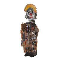 """""""Santo António Electrónico"""", 2016, Objectos encontrados, madeira pintada [INDISPONÍVEL / UNAVAILABLE]"""