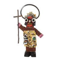 """Cristo Robô"", 2016, madeira pintada, metal, objectos encontrados, 20x36x12cm [INDISPONÍVEL / UNAVAILABLE]"