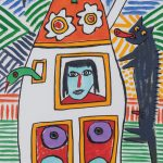 """Sem título"", 2016, Óleo sobre papel, 29x42 cm [INDISPONÍVEL / UNAVAILABLE]"
