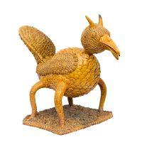 """Pássaro de Quatro Patas"", 1975, Barro vidrado"