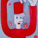 """""""O Soldadinho I"""", Acrílico sobre papel, 41x58 cm"""