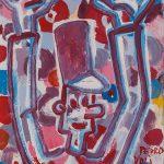 """""""O Soldadinho II"""", Acrílico sobre papel, 24x33 cm [INDISPONÍVEL / UNAVAILABLE]"""