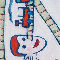 """""""Pinóquio no País das Brincadeiras III"""", acrílico sobre cartolina, 24x33cm [INDISPONÍVEL / UNAVAILABLE]"""