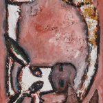 """""""Pinóquio Orelhas de Burro"""", Óleo sobre tela, 25x35 cm"""