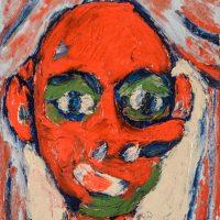 """""""Pinóquio no Teatro"""", óleo sobre tela, 20x25cm [INDISPONÍVEL / UNAVAILABLE]"""