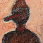 """""""Pinóquio, o Menino de Madeira II"""", Óleo sobre tela, 24x30 cm"""