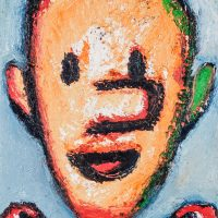"""Pinóquio no País das Brincadeiras IV"", óleo sobre tela, 19x24cm [INDISPONÍVEL / UNAVAILABLE]"