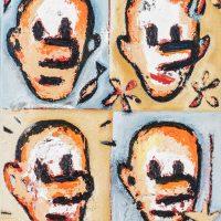 """""""Pinóquio e a Fada Madrinha II"""", óleo sobre tela, 19x24cm [INDISPONÍVEL / UNAVAILABLE]"""