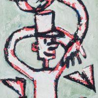 """""""O Soldadinho e o Avião"""", óleo sobre tela, 24x30cm [INDISPONÍVEL / UNAVAILABLE]"""