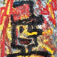 """""""O Soldadinho e o Foguetão II"""", óleo sobre tela, 19x24cm [INDISPONÍVEL / UNAVAILABLE]"""