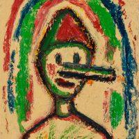 """Pinóquio I"", óleo sobre tela, 20x25cm [INDISPONÍVEL / UNAVAILABLE]"
