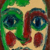 """A Menina III"", óleo sobre tela, 15x20cm [INDISPONÍVEL / UNAVAILABLE]"