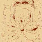 """""""A Flor I"""", Óleo sobre tela, 14x18 cm"""
