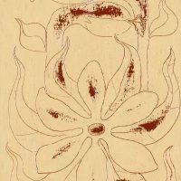 """""""A Flor I"""", óleo sobre tela, 14x18cm [INDISPONÍVEL / UNAVAILABLE]"""