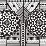 """Daniel Gonçalves, """"#82"""", 2017, Artpen sobre papel, 70x50 cm [INDISPONÍVEL / UNAVAILABLE]"""