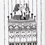 """Sem título"", Série Arterapia, 2003-2014, Artpen, 34x42cm [INDISPONÍVEL/UNAVAILABLE]"