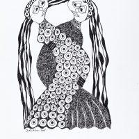 """Sem título"", Série Arterapia, 2003-2014, Artpen, 34x42cm [INDISPONÍVEL / UNAVAILABLE]"