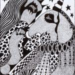 """Sem título"", Série Arterapia, 2003-2014, Artpen, 34x42cm"