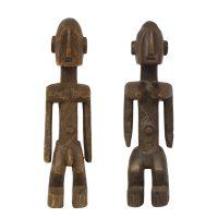 """""""Casal de Estatuetas"""", Dogon, Mali, Séc. XX"""