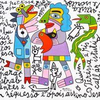 """""""Desparates Istrabagantes e Sem Nequesso"""", 2017, óleo sobre tela, 100x90cm [INDISPONÍVEL/UNAVAILABLE]"""
