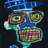 """""""Deshumanizados nº6"""", acrílico sobre papel, 21x30cm [INDISPONÍVEL/UNAVAILABLE]"""
