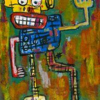 """""""Deshumanizados nº7"""", 2013, Acrílico sobre papel, 21x30 cm [INDISPONÍVEL/UNAVAILABLE]"""