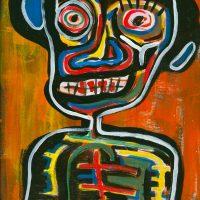 """""""Deshumanizados nº11"""", 2013, Acrílico sobre papel, 23x33 cm [INDISPONÍVEL/UNAVAILABLE]"""