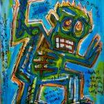 """Deshumanizados nº020"", Acrílico sobre madeira, 61x81 cm [INDISPONÍVEL/UNAVAILABLE]"