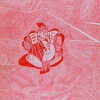 """Ganesha"", 2014, artpen sobre papel, 30x42cm [INDISPONÍVEL / UNAVAILABLE]"