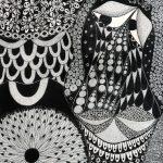 """""""Sem título"""", Série Psico-afroliberdélia, 2018, Artpen sobre papel, 30x42 cm [INDISPONÍVEL / UNAVAILABLE]"""