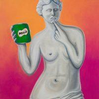 """""""O Milo de Vénus"""", 2016, acrílico sobre tela, 60x80cm"""