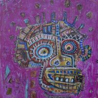 """Nº52"", 2018, Acrílico sobre madeira MDF, 60x70 cm [INDISPONÍVEL/UNAVAILABLE]"