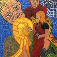"""""""Os Cogumelos do Homem-Aranha"""", 2017, óleo sobre tela, 60x80cm – CCZB17-015"""