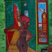 """Mariana"", 2004-2017, óleo sobre tela, 60x80cm [INDISPONÍVEL / UNAVAILABLE]"
