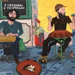 """""""Kalima e Space Drum"""", 2016, Óleo sobre tela, 90x70 cm"""