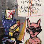 """Sem título"", 2014, Acrílico sobre tela, 73x93 cm"