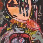 """Sem título"", 2016, Acrílico sobre tela, 73x92 cm"