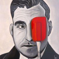 """""""Salazares"""", 2018, Acrílico sobre papel 35x50 cm [INDISPONÍVEL / UNAVAILABLE]"""