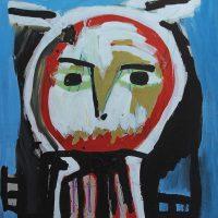 """Sem título"", 2014, Acrílico sobre cartão, 75x105 cm [INDISPONÍVEL / UNAVAILABLE]"