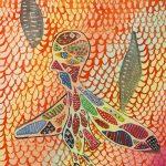 """Arcanjo"", 2018, Aguarela sobre papel, 13x16cm [INDISPONÍVEL / UNAVAILABLE]"