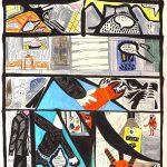 """""""Mistério Nº3"""", 2018, Caneta e Lápis sobre papel, 18x29cm"""