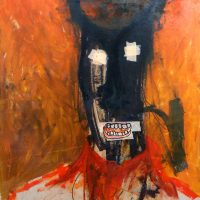 """Sem título"", 2016, acrílico sobre cartão, 75x105cm [INDISPONÍVEL / UNAVAILABLE]"