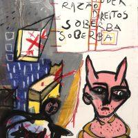 """""""Sem título"""", 2014, acrílico sobre tela, 73x93cm [INDISPONÍVEL / UNAVAILABLE]"""