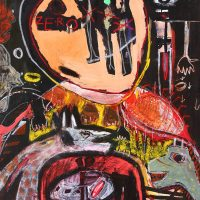 """""""Sem título"""", 2016, acrílico sobre tela, 73x92cm [INDISPONÍVEL / UNAVAILABLE]"""