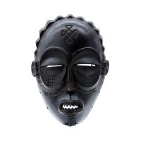 "Chokwe, ""Máscara Chokwe"", Séc. XX, Angola ou R. D. Congo, Madeira, 15x21x15cm"