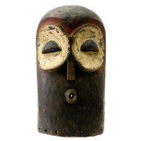 "Bembe, ""Máscara"", R.D. Congo, século XX, madeira, pigmentos naturais, 20x35x13cm [INDISPONÍVEL / UNAVAILABLE]"