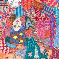 """""""Arte de Sofá 27"""", 2019, caneta sobre papel, 15x21cm"""