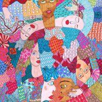"""Arte de Sofá 31"", 2019, caneta sobre papel, 21x30cm [INDISPONÍVEL / UNAVAILABLE]"