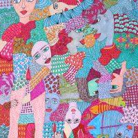 """""""Arte de Sofá 24"""", 2019, caneta sobre papel, 24x38cm"""